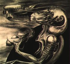 Hans Rüdi Giger: Mother with Child
