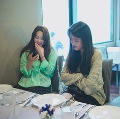Korean Celebrities, Korean Actors, Korean Girl, Asian Girl, Iu Fashion, Kpop, People Sitting, Beautiful Voice, Korean Singer