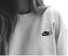 sweater nike grey comfy tumblr grey sweater