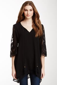 Tunic tops are loose fitting garments.