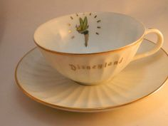 vintage tinker bell cup & saucer