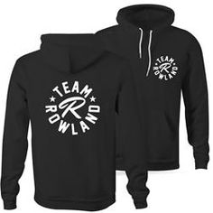 Team Rowland merch- since the Rowland's I love and they helped me live also😍🙏🏾