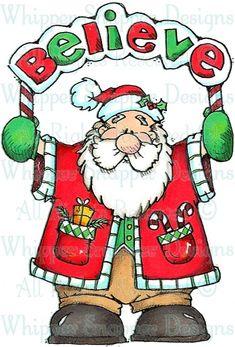 BBY853 Santa Believes -  Item Number: #BBY853