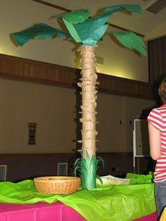 Paper Palm Tree Tutorial