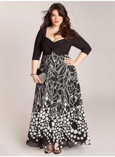 Plus Size Bohemian Maxi Plus Size Dress