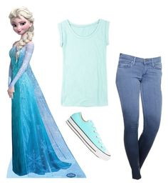 """""""Elsa"""" by biggestelfever ❤ liked on Polyvore"""