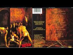 Skid Row - Slave To The Grind - This album is such a classic, still sounds as good now as it did back in 1991