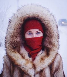 Husky-eyed local girl returning home from university. While the majority of the city's population are indigenous Yakutian, many ethnic Russi...