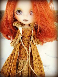 Blythe 2Piece Cloak and Gown by cindysowers on Etsy, $32.00