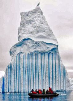 Striped iceberg, Antarctica