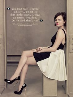 As a picture. | Elisabeth Moss