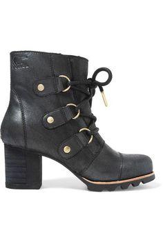 Sorel - Addington Waterproof Nubuck Boots - Black - US10.5