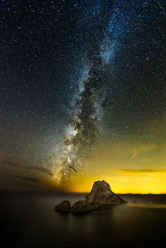 Milky Way over Es Vedra by MarkRoss79 on Flickr.