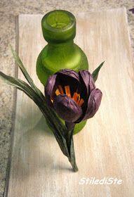 Ho pensato di proporti come primo lavoro, la realizzazione di un fiore che di solito suscita molto interesse:       IL CROCUS   Che cosa...