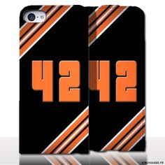 Protection iPhone 5 Cuir Numero - Personnalisez votre étui en cuir. #Numero42 #iPhone5 #Cuir #etui