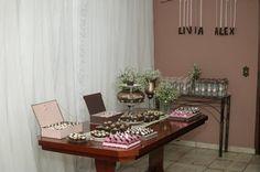Mesa de doces do meu noivado!!!