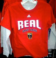 5b399e17e28 Youth 3-in-1 T-shirt set. 90/10 cotton/poly. Colors available: As shown.  Sizes available: YS-YL. $30. Real Salt Lake Team Store