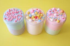 Fruit Loops Cereal, Bubbly Slime, Types Of Slime, Instagram Slime, Pink Slime, Mermaid Slime, Glossy Slime, Edible Slime, Slime Shops