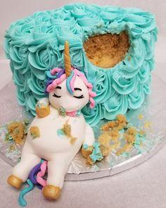 Unicorn Cake (cake wasted)