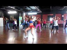 Zumba Cubaton at DAF Studio. Jenny de Guzman dancing Pitbull.  #fitness #zumba