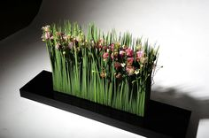 Unique Flower Arrangements, Ikebana Flower Arrangement, Unique Flowers, Fruit Flower Basket, Corporate Flowers, Flower Installation, Floral Event Design, Floral Artwork, Arte Floral