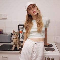 'Right Meow' by @oggsie is up!  SticksAndStonesagency.com  Model @aliciajadeuk Stylist @yukihaze