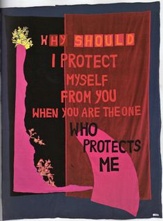 Providence, 2004. Appliquéd blanket. 274.3x205cm Luard, H. and Miles P., eds., 2006. Tracey Emin. New York: Rizzoli International Publications Inc.