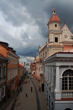 Vilnius, Lithuania birth place of my great grandfather Piotr (Peter) Harosia