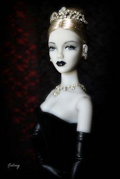 "JAMIEshow Gene Marshall ~ ""Black Lipstick"" ~ Image by JinCincy ~ The Studio Commissary/kw"