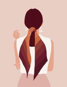Woman Illustration, Portrait Illustration, Digital Illustration, Graphic Illustration, Design Illustrations, Aesthetic Art, Cartoon Art, Female Art, Art Girl