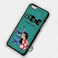 What It Means Lilo and Stitch Ohana - iPhone 7 6 5 SE Cases & Covers
