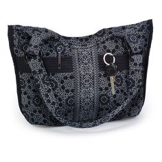 @WorldCrafts {Plentiful Pocket Purse ~ Napada ~ Thailand} This quilted purse filled with pockets is the perfect bag to keep all your items organized! Napada provides a creative outlet, a caring atmosphere, and a living wage that helps Thai women thrive and provide for their families. #fairtrade