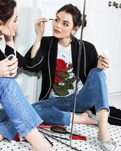 Lucy Hale for Byrdie