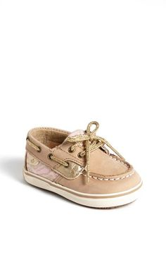 Sperry Top-Sider® Kids 'Bluefish' Crib Shoe (Baby) available at #Nordstrom ON SALE!