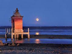 #Lignano Sabbiadoro #beach - #lighthouse night view
