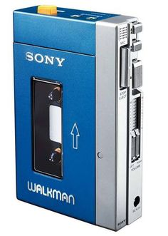 Sony walkman - 80's baby! So retro!