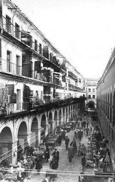 La Corredera y el Mercado en el centro