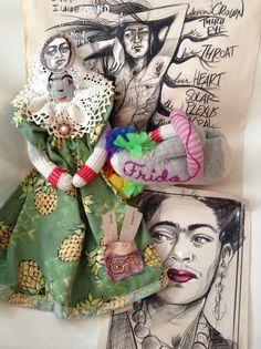 Art sale to celebrate Frida's birthday! One of a kind package.   Katarina Thorsen Art Blog