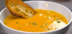 Roasted Butternut Squash Soup Recipe & Video | TipHero