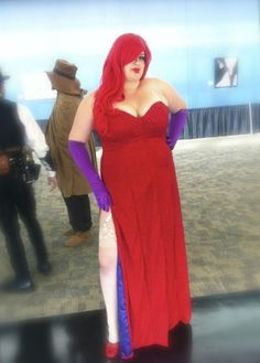 Jessica rabbit dress plus size - http://pluslook.eu/party/jessica-rabbit-dress-plus-size.html. #dress #woman #plussize #dresses