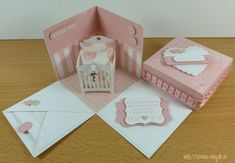stampinup, baby, explosion box