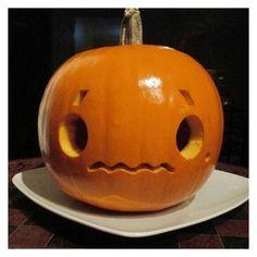 I want to carve a kaomoji pumpkin too! I want to carve a kaomoji pumpkin too! I want to carve a kaomoji pumpkin too! Emoji Pumpkin Carving, Halloween Pumpkin Carving Stencils, Halloween Pumpkin Designs, Pumpkin Carving Contest, Amazing Pumpkin Carving, Halloween Pumpkins, Pumpkin Designs Carved, Cute Pumkin Carving Ideas, Scary Halloween