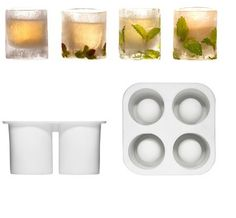 Ice shot glass molds