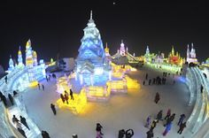 ice sculptures | Fantastic Ice and Snow Sculptures « Speak Chennai – Latest news ...