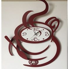 Made In Italy in Contemporary, Modern and Unusual Designs of Wall Clocks Made By Arti & Mestieri Clock Art, Diy Clock, Dining Room Clock, Kitchen Wall Clocks, Diy Design, Wood Crafts, Diy And Crafts, Wall Clock Design, Wall Clock Decor