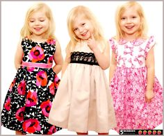 5 Berries Girls Dress Patterns, Symphony Children's SEWING PATTERNS,  PDF, ebook, tutorial, baby, toddler by 5Berries on Etsy https://www.etsy.com/listing/71085018/5-berries-girls-dress-patterns-symphony