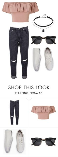 """""""Untitled #83"""" by axivq on Polyvore featuring Boohoo, Miss Selfridge and H&M"""