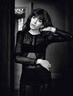 Lou Doillon @ Zalando ♥ Black & White