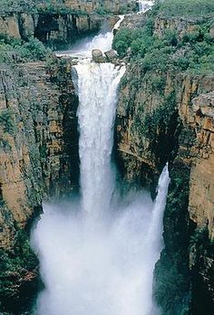 Jim Jim Falls during the wet season, Kakadu National Park Australia