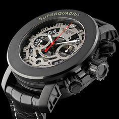 Meccaniche Veloci watches : Super Quadro Rally Sport  W 307 RS | Watchonista